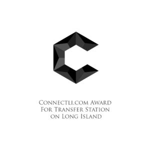 Connectli.com Award For Transfer Station on Long Island